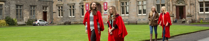 students in robes