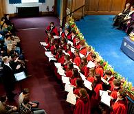 Chapel Choir at Graduation